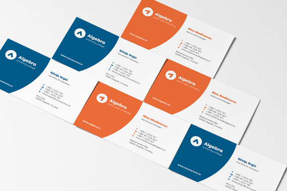 Algebra visual identity design