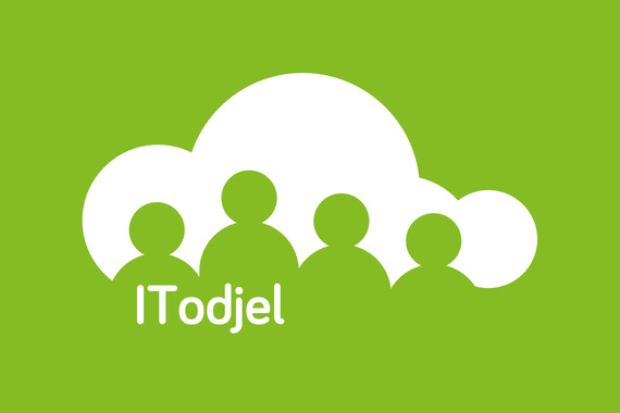 IT odjel visual identity and web design