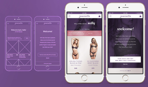 Journelle Omni Channel App