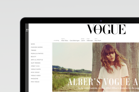 Vogue Redesign