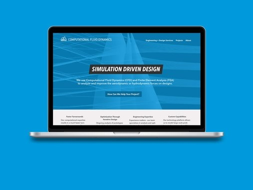 Engineering Firm Website