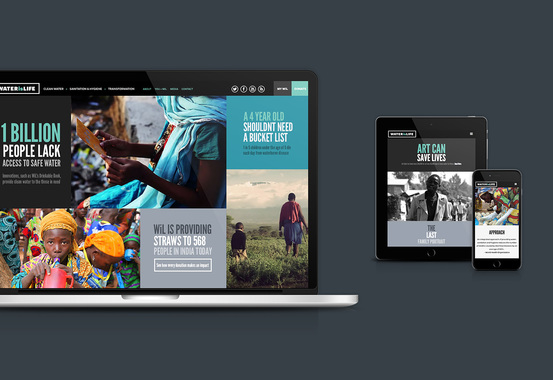 WATERisLIFE Responsive Web Design