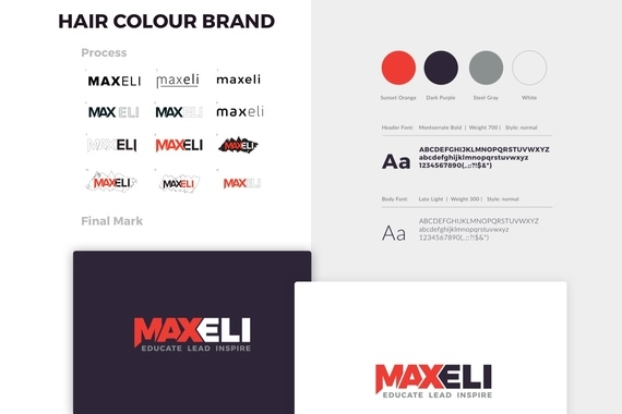 MaxEli Hair Color Brand