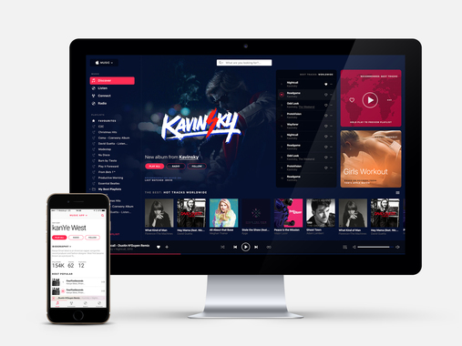 Apple Music Redesign Project
