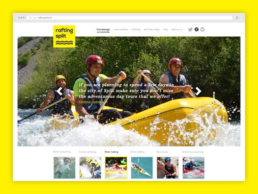 Rafting | Website