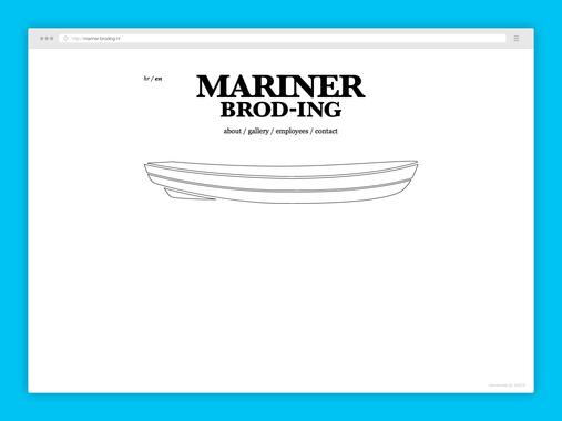 MARINER BROD-ING | Website
