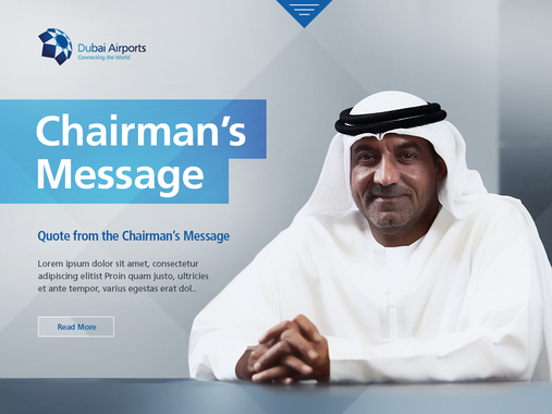 Dubai Airports Yearbook Website