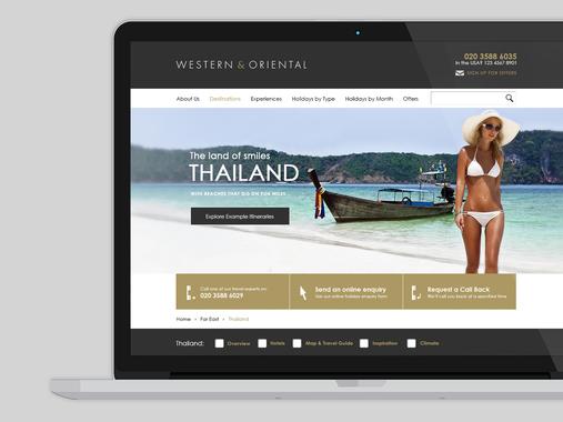 Western & Oriental Website