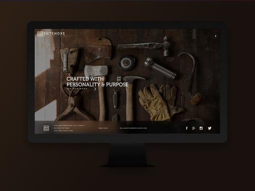 Entendre Studios Website