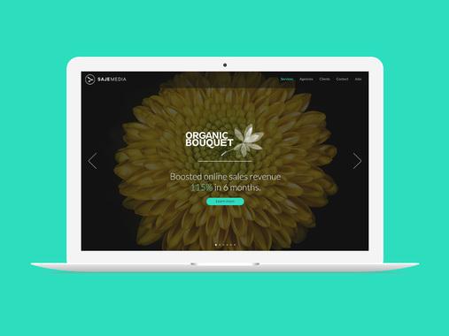 Saje Media Website