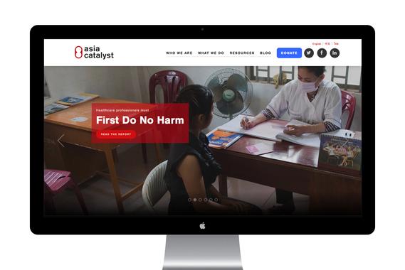Asia Catalyst Website Redesign