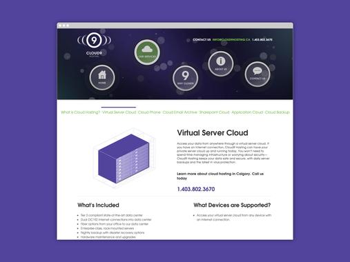 Cloud9 Website Design and Branding