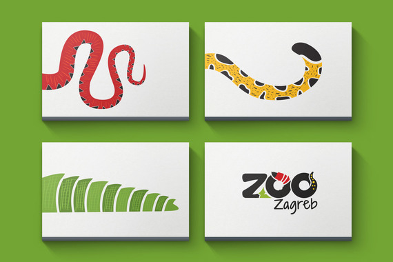 Zagreb ZOO | Identity Rebranding: Print and Digital
