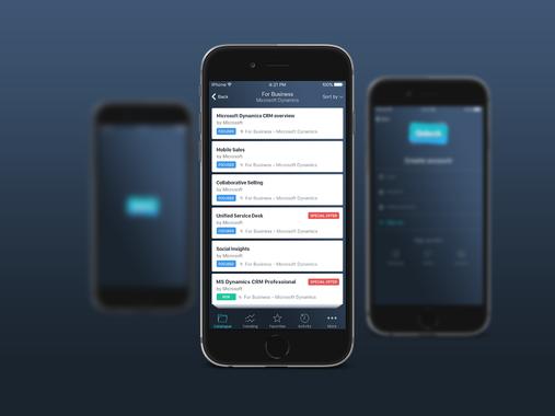 Qdeck iOs Mobile Application