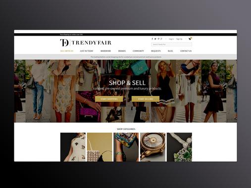 Fashion Sales Stores Platform
