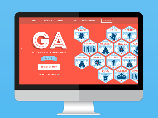 2014 General Assembly Identity and Environment Design