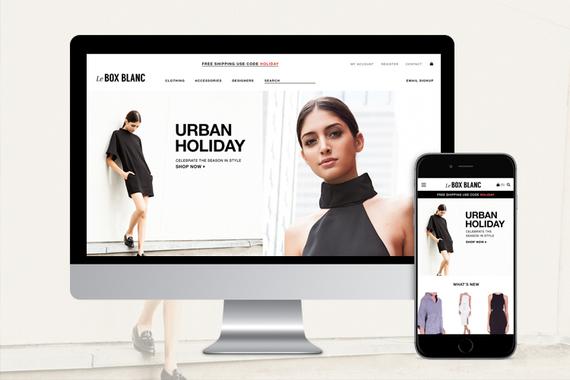 Le Box Blanc: eCommerce Site