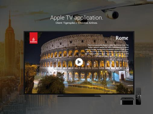 Apple TV Application