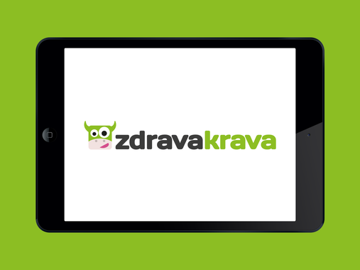 Logo and Illustrations for Zdrava Krava