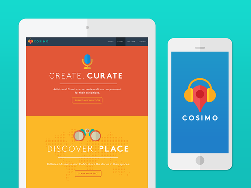 Art Direction for COSIMO Audio iOS App