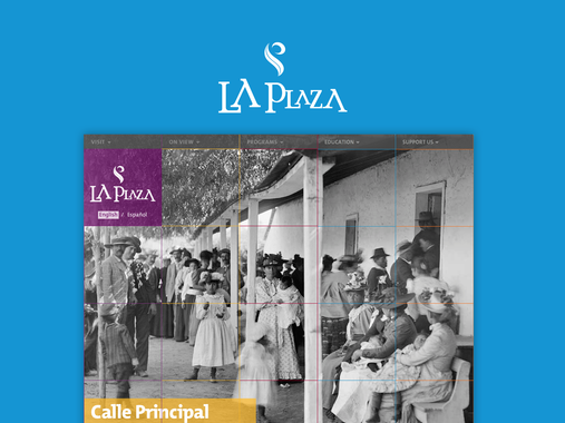 Website Design for Los Angeles-based Museum, LA Plaza de Cultura y Artes