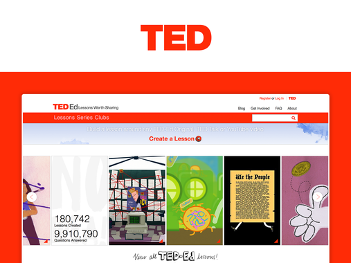7x Webby Award Winner TED-Ed