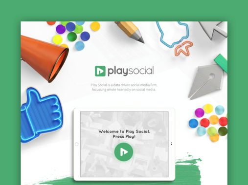 PlaySocial Landing Page
