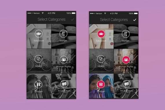 GiveMob Mobile App