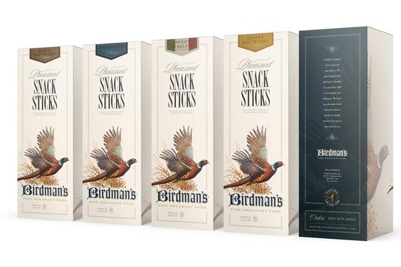 Birdman's Fine Pheasant Fare - Logo, Web, eCommerce, Packaging System