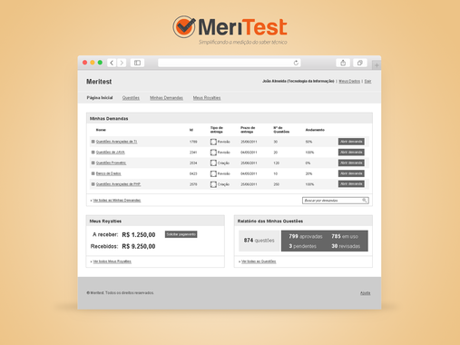 Meritest | Intranet