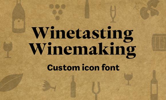 [ICONS] Winetasting & Winemaking