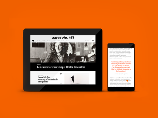 Redesign of an Online Biweekly Magazine