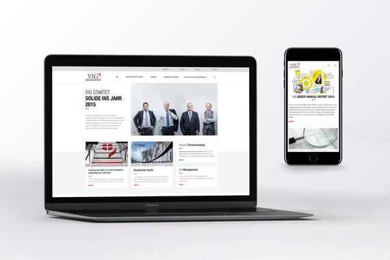 Vienna Insurance Group - website relaunch