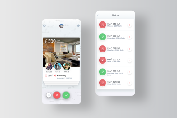 HelloHome | App for Searching for Neighbors