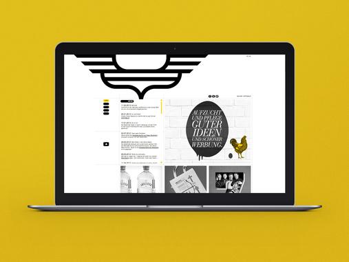 Portfolio Website and Visual Identity | Die Goldkinder