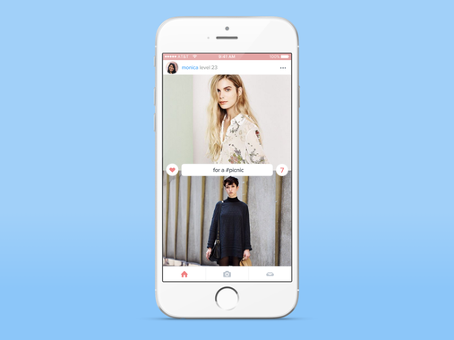 Flittr – Decision-Making App for Fashion (iOS)