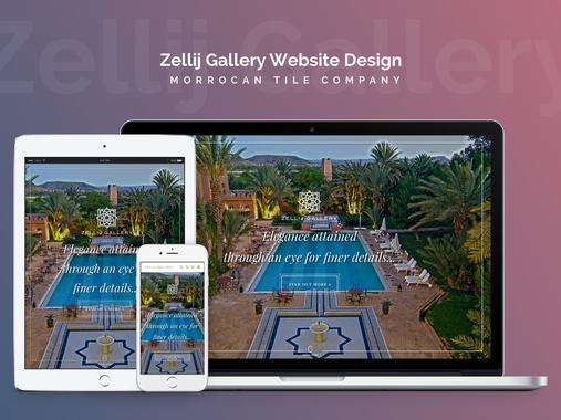 Website Design | Leading Manufacturer of Moroccan Tile