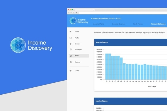 Income Discovery Web app