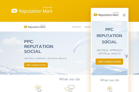 Reputation Mart   Website