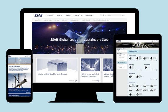 SSAB - User Experience Platform