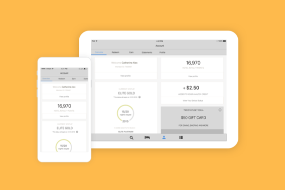Hotel Booking Mobile and Tablet App