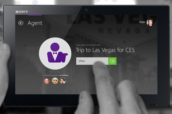 Microsoft  Context Aware Travel Agent