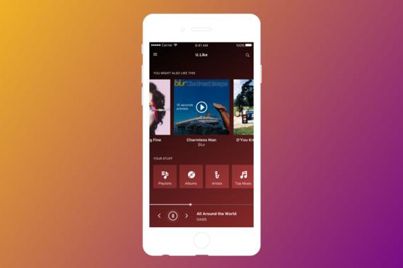 U.Like Music App