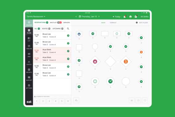 Restaurant Management Platform for iPad and Web - Eat Restaurants