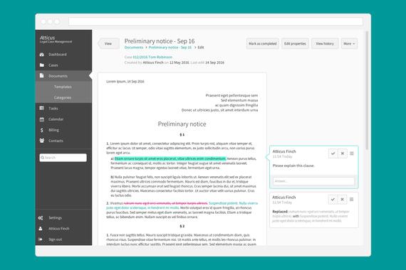 Legal Documents Collaboration Platform