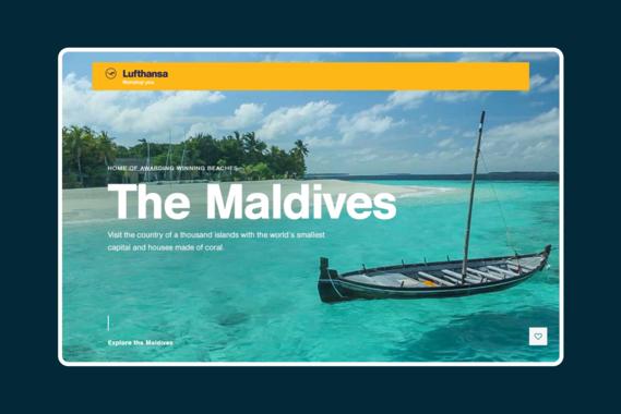 Lufthansa Dreamscapes Website