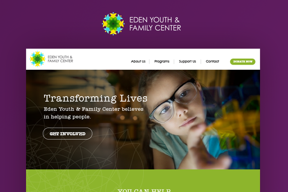 Nonprofit Brand and Responsive Website