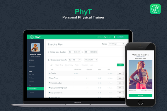 PhyT | Personal Physical Trainer