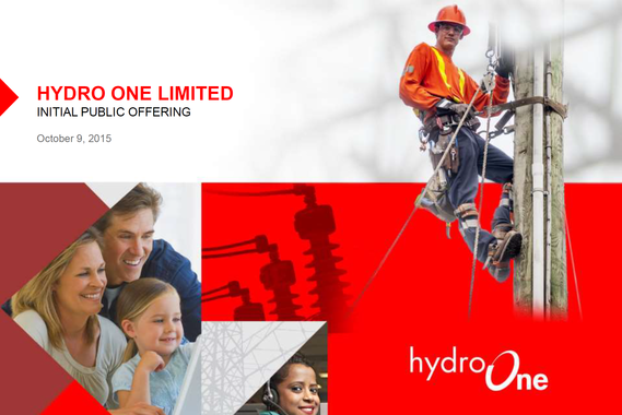 Hydro One Limited | IPO Consulting