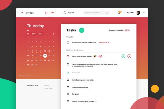 MyTodo | Web amd Mobile App